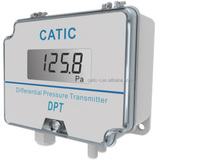 Low cost digital smart air negative differential pressure transmitter with LCD