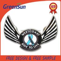 Custom Design Metal Wings Pin Badge