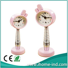 High Quality Luxury Digital Table Clock Spring Mini Clock