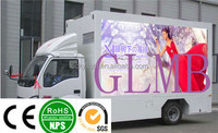 2015 new technology Customized Light Weight Mobile Advertising Truck p10 full color LED Display for Car