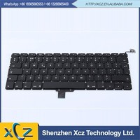MB133 MB134 unique laptop computer keyboard A1278 UK for macbook pro