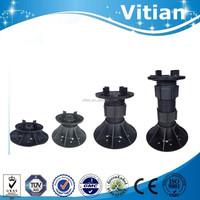Vitian Adjustable Plastic Decking Pedestal for Outdoor WPC Floor