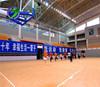 Factory hot sell vinyl floor PVC basketball court flooring