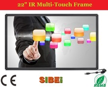 Touch waterproof IR touch screen monitor 22 inch super 17 tft lcd monitor for ATM/ POG game/ kiosks made in China