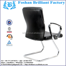 black leather z shape dining chair and sillas plegables for swivel office chair no wheels 8805A 4