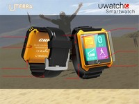 "IPX68 Waterproof 1.54"" IPS Touch Screen Smart Watch with Bluetooth 4.0 and GPS"