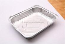 Food grade Roasting Cooking Rectangular Aluminum Foil Trays/Pans