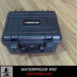 IP67Heavy Dusty Hard Plastic Equipment Case with Handle for Security Equipment