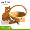 Natural bamboo fruit basket for healthy life