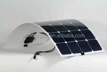 Flexible solar panels from 100-250 watt
