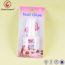 Bond nail glue with 10g Chinese manufacture cosmetic nail art brush glue