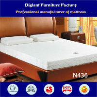 Wave type float bed mattress