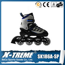 Foreign trade names for adult and children roller skating adjustable ice skating inline shoes wholesale