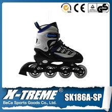 Comércio exterior nomes para adultos e crianças roller skating ice ajustável patins em linha sapatos atacado