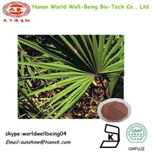 Herbs Saw Palmetto Fruit Extract 10 1 /Fatty Acids Saw Palmetto Extract /Saw Palmetto extract Powder