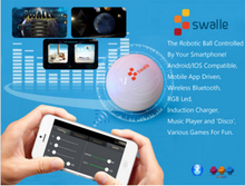 Swalle 2.0 Robotic Ball Bluetooth Controlled Toy for IOS ,Android, Window Device