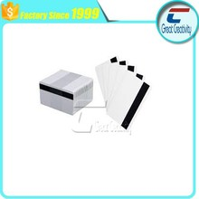 Cheap Price Blank White Plastic Cards with HiCo Magnetic Stripe - CR80 - 30 mil / 0.76 mm with the factory of China