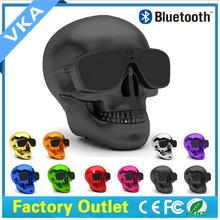 2015 hot sale skull bluetooth speaker ,new products 2016 ,radio fm