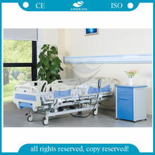 CE approved AG-BY005 five function electric remote hospital bed