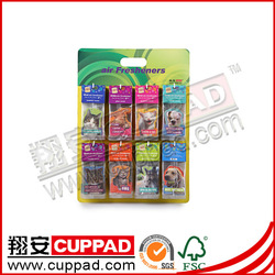 Natural,,good smell hanging car air fresheners rose scent.