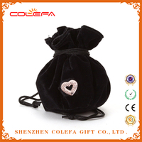 online shopping hong kong christmas custom Velvet Jewellery Drawstring Pouches GIFT BAGS for Beads/Earrings/Pendants/Rings