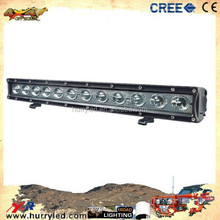 Super Brightness 20inch 10-30V 12*5W 60W Single Row LED light bar for 4 X 4,ATV, SUV, UTV, off-road, Jeep