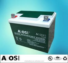 12V AGM VRLA UPS Battery Rechargeable Battery external Battery for laptop