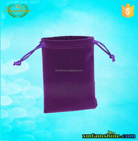 customized velvet jewelry bags /velvet pouch bag/velvet gift bag