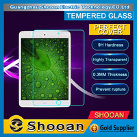 Wholesale anti shock 9h thickness 2.5d round edge tempered glass screen ward for ipad mini