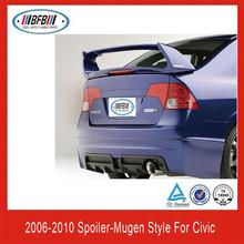 China spoiler kits for Honda Mugen Style 2006~2010