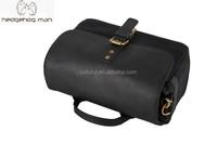 2015 Fashion HEDGEHOG MAN Vintage Leather Photo Camera Bag
