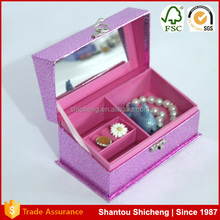 Handmade Mirror Jewelry Box Lining Fabric