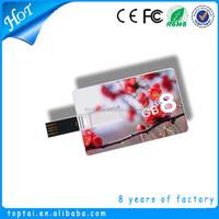 Cheap credict card shape usb memory stick 8gb