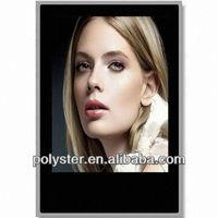 46'' naked-eye standing ad/news LCD display signage