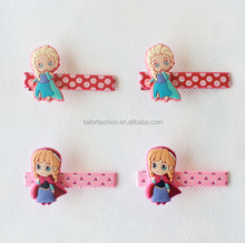frozen Hairpins Headwear Elsa Anna Olaf hairClips for Girl Fashion Party accessories