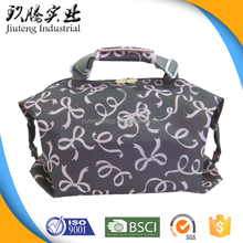 Comfort Handled Tote Travel Folding Bag with Trolley Belt