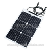 semi flexible solar panel for boat , bendable solar panel used on car,caravan,yacht SN-H18W