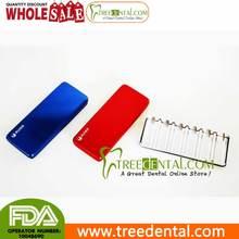 B025-red Multifunctiona pequeños instrumentos Bur desinfección Box best dental cassettes para esterilización