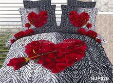 100% polyester 3d queen size comforter set, comforter energy, heart bedding set