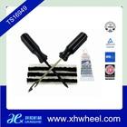 Reparação de pneus kit- plug óculos cordas/lima, a inserção de ferramenta/cimento cola