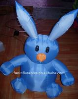 Inflatable Rabbit Shape Decorations for Easter Gift