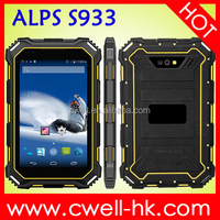 ALPS S933 IP68 Waterproof Rugged Tablet PC 7 Inch Android 4.4 OS quad core Single SIM Card 13.0MP WIFI 3G GPS 1GB RAM 16GB ROM