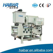 Rotary drum thickening belt filter press HTA 1250