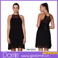 venta al por mayor precio excelente calidad y los patrones para el corto vestido con cremallera de la espalda