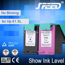 Top Selling Products Replaced Ink Cartridges for HP61 (CH563W) for HP Printer 1050 2050 with New Chip