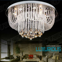 Good value for money mirror metal hotel entry chandelier