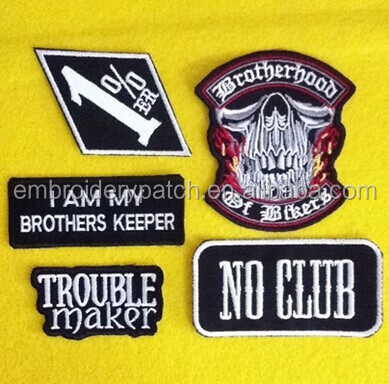 Shop Biker Patches Embroidered Iron On Patches for