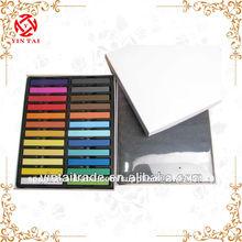 el cabello multicolor tiza temporal tinte para el cabello salón de color kit suaves pasteles/ tiza peluca