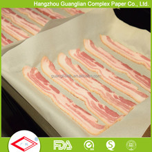 Pre-cut Parchment Paper Sheets for Bacon Baking