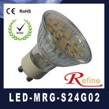 Smd 2014 3.3w 250lm baratos gu10 bombillas led